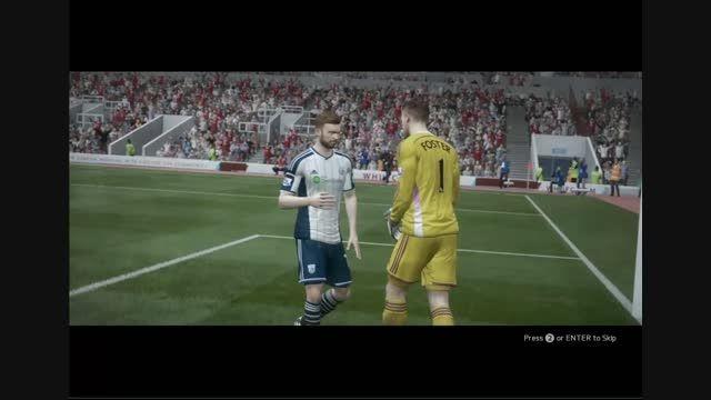 کلیپ اغاز بازی فیفا 15