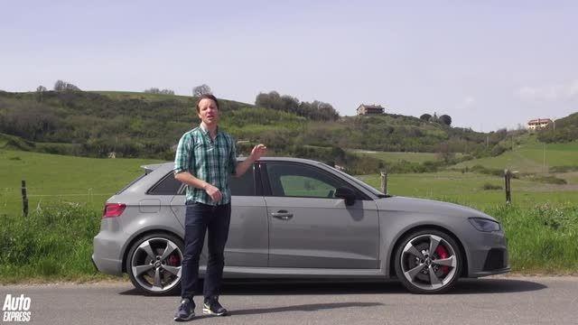 تست و بررسی آئودی RS3 مدل 2015