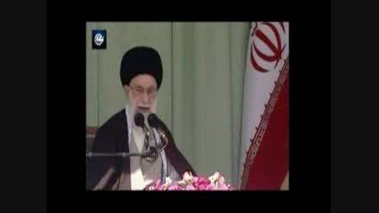 صحبت های مقام معظم رهبری در رابطه با کرمانشاه