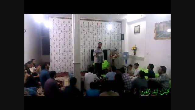 جشن نیمه شعبان آذری سال 94 حاج علی اصغر سلیمانی تراک 2