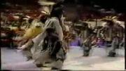 رقص زیبای سرخپوستان آمریکا