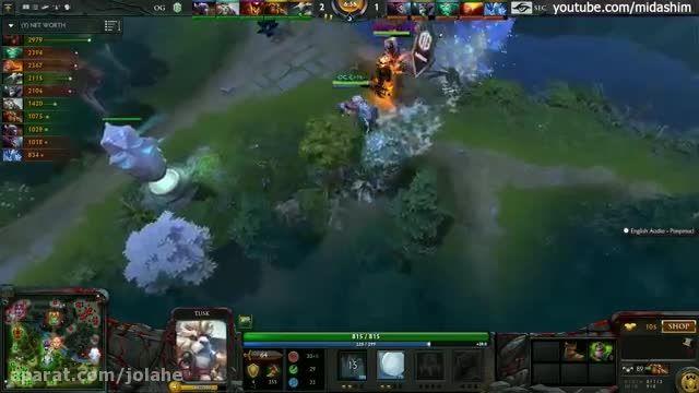 OG vs. Secret Game 3 Highlights Dota 2