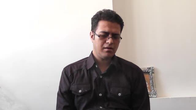 ویدئو مرتضی صفدریان برای شرکت در بخش خوانندگی سنتی