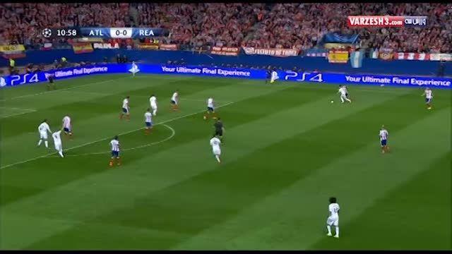 هایلایت بازی اتلتیکو مادرید و رئال مادرید در چمپیونزلیگ