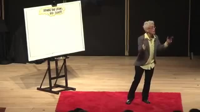 آینده ی خود را به تصویر بکشید ... سخنرانی Ted