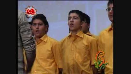 اجرای گروه سرود دبیرستان سلام تجریش-سال 89