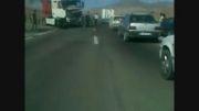 تصادف  جاده ی اهر تبریز