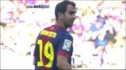بارسلونا vs مالاگا | 3 - 0 | گل مونتویا