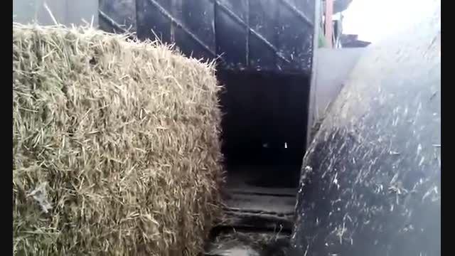 دستگاه مخلوط کننده کود مرغی با کاه فاز یک کمپوست قارچ