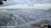 سونامی وحشتناک در هاوایی