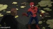 انیمیشن سریالی مرد عنکبوتی نهایی دوبله فارسی قسمت اول