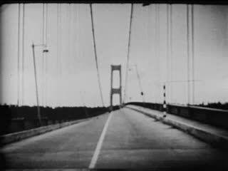 فیلم ریزش پل (Tacoma Narrows Bridge (1940