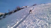 بازی با مرک در کوهستان پر از برف