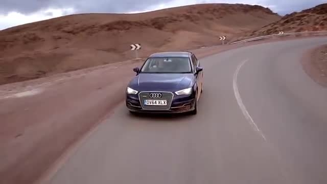 Charging to Morocco in the Audi A3 Sportback e-tron