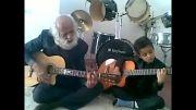پدر و پسر هنرمند صدا رو باش