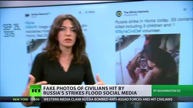 گاف رسانه ای غرب درجنگ روانی علیه عملیات ضد داعشی روسیه