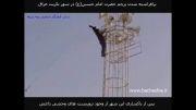 برافراشته کردن پرچم امام حسین در شهر تکریت عراق