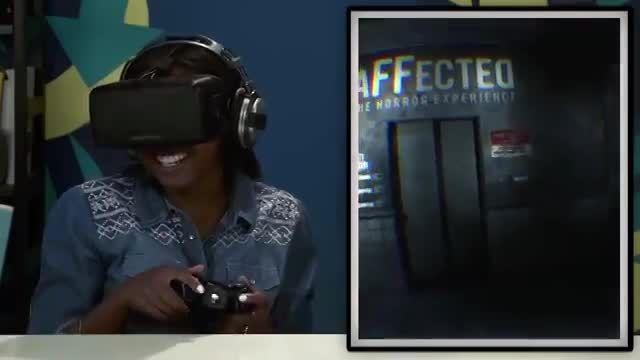 oculus rift- teens react to horror games on oculus