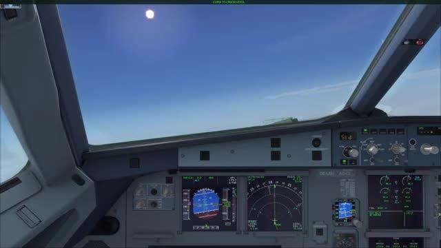 آموزش کامل پرواز با ایرباس 320 شبیه ساز پرواز قسمت 6