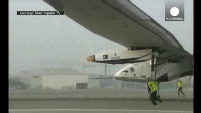 آغاز سفر به دور دنیا با هواپیمای خورشیدی از ابوظبی