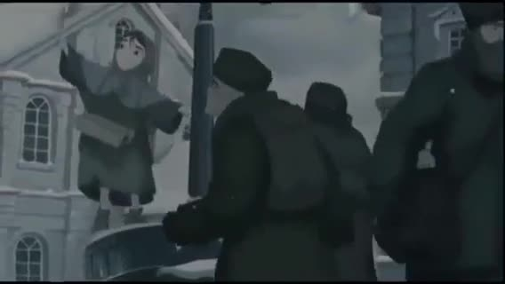 انیمیشن دختر كبریت فروش
