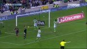 رئال بتیس 0 - 2 بارسلونا | گل پدرو