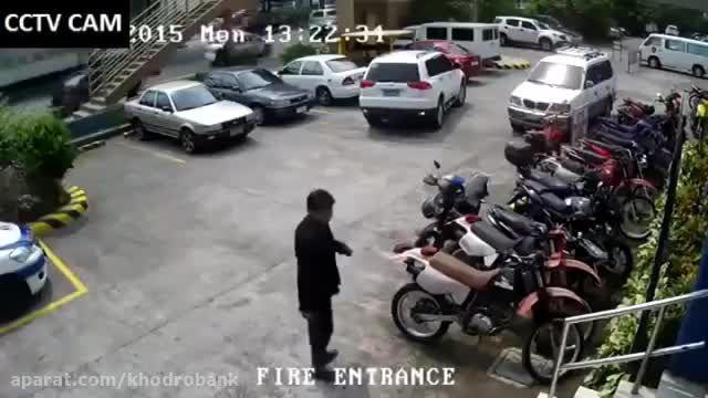 وقتی پارک کردن به یک فاجعه تبدیل می شود