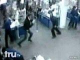 دعوا در مرکز خرید روسها