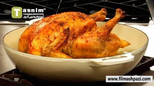 بریان کردن مرغ