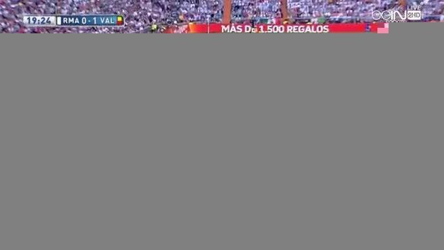 گل های بازی : رئال مادرید 2 - 2 والنسیا(گزارشگر عربی)
