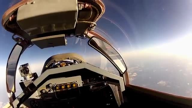 MIG-29 Flight To The Edge Of Space - From The Pilots Se
