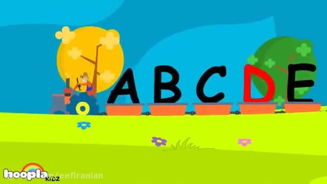 شعر و موزیک کودکانه انگلیسی آموزش حروف الفبا