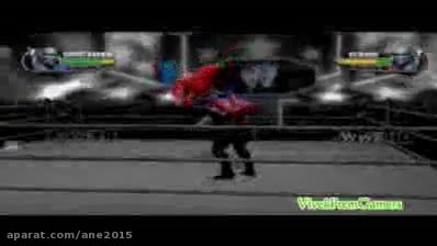 مبارزه مرد عنکبوتی vs مرد عنکبوتی سیاه در wwe