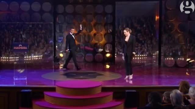 شباهت کمدین اهل چک به جیم کری در جشنواره فیلم چک