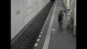 2 به 1 درگیری شدید در مترو