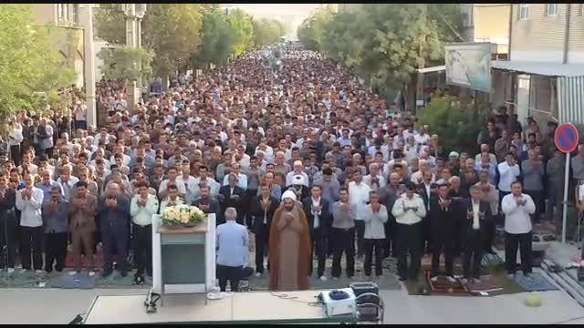 نماز عید فطر شهرستان ایوان- پایگاه خبری جویزر