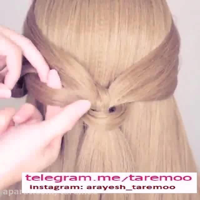 آموزش بافت مو بسیار زیبا در تار مو