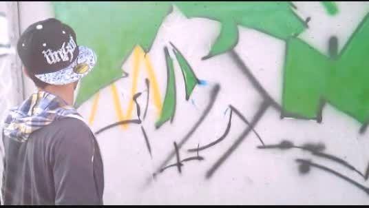 ویدیو گرافیتی فرهنگ از فرجام036 (کاشان گرافیتی)