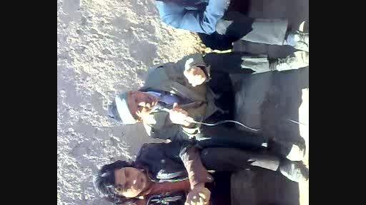 چهاربیتی پیرمردان روستای روشن آباد در 22بهمن
