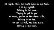 اهنگ talking to the moon از برونو مارس