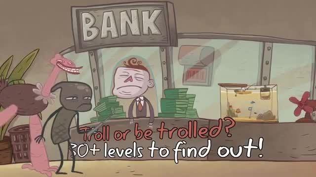 اندسافت - تریلر بازی Troll Face Quest Unlucky