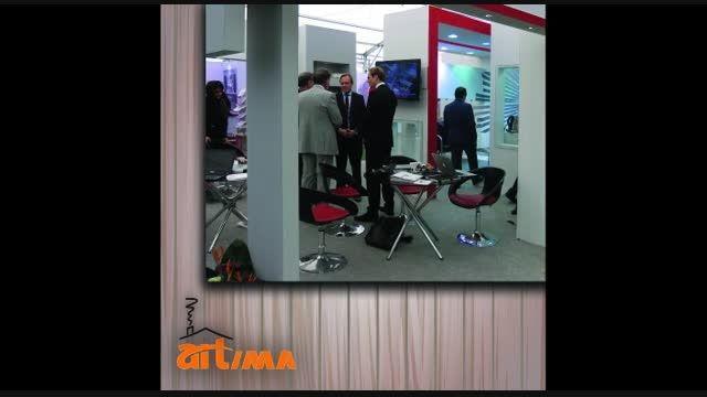 طراحی غرفه نمایشگاهی ایمپلنت TRI