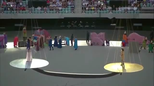 افتتاحیه اولین بازی های المپیک اروپایی در باکو