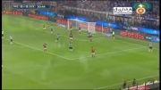 گل و خلاصه بازی میلان 0 - 1 یوونتوس