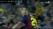 خلاصه بازی بارسلونا 3 - 1 آژاکس