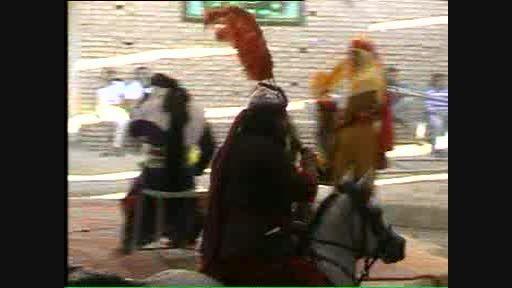 ورود شمر به کربلا-میرزا ابوالفضل منبتکار
