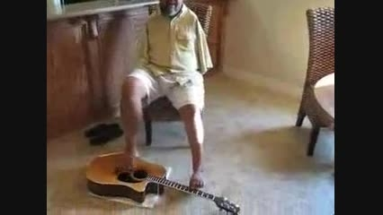 زندگی بدون محدودیت و بدون دست | Toe Jam نوازنده گیتار
