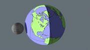 اگر ماه به زمین نزدیک بود