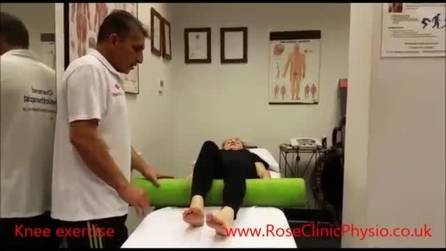 زانو درد، التهاب زانو، تمرین های زانو، فیزیوتراپی