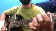 خواننده و گیتاریست حرفه ای _ قطعه ای از سیروان خسروی